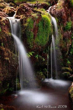Waterfall on the Alnwick Burn, Campsie Fells, Scotland