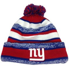81517b4acbb Rock a warm On-Field style like your favorite players and coaches with this knit  beanie from New Era