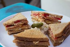 El club sándwich de siempre, pero con tu toque mágico. | 16 Sándwiches de desayuno que están listos en menos de 15 minutos
