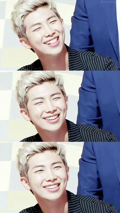 More smile, bae! I love this amazing leader.