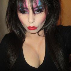 Elvira Mistress Of The Dark Makeup Tutorial #makeup #bhcosmetics #elvira #halloween #halloweenmakeup