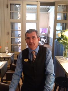 Franky is a member of the food and beverage department at #Hotel Navarra #Bruges.  Franky has a lot of experience in food and beverage. For many years he owned and managed his own restaurant in Bruges with great success. His customer-friendly attitude is a perfect match with our in-house philisophy. Franky looks forward to be able to be of service to you in future.  http://www.hotelnavarra.com/en/info/237/Our-staff-at-your-service.html