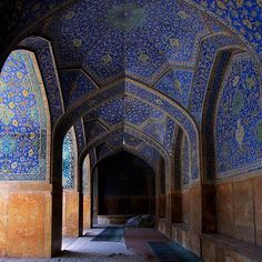 Imam (Shah) Mosque in Isfahan, Iran.