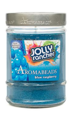 - Blue Raspberry fragrance: Wild raspberry with tangy fruit accent this candy treat - The manufacturing process used to make AROMABEADS™ is unique and locks the fragrance into the wax beads - The prop