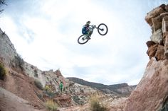Stepping up at Red Bull Rampage 2013