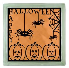 Happy Halloween Frame.......SVG, FCM & MTC........Commercial Use by CraftaholicCreation on Etsy