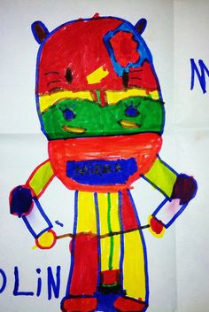 Your child draws this, and then submit is to www.childsown.com and...
