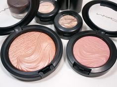 MAC Magnetic Nude Collection: Extra Dimension Skinfinish Fairly Precious and Extra Dimension Blush At Dusk