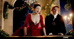 Jamie Fraser and Claire In France