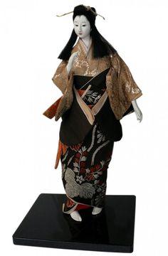 Японская интерьерная кукла, фото