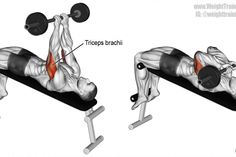 Incline Reverse Grip Barbell Bench Press A Compound Push