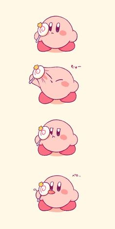 Cute Cartoon Wallpapers, Animes Wallpapers, Kirby Character, Character Design, Kawaii Drawings, Cute Drawings, Kirby Nintendo, Kirby Pokemon, Kirby Memes