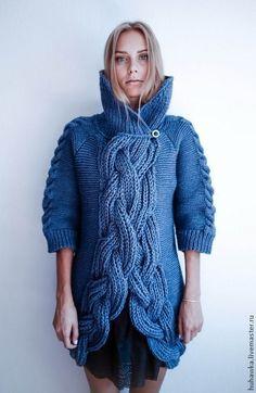"Кардиган ""МАССИВ"". Handmade. #knitting"