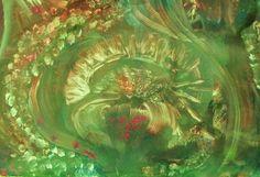 MOLLUSKE Acryl auf Holz, 80 x 60 cm von Runa Argeya