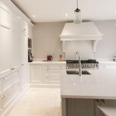 kleur muur in keuken Cornforth White