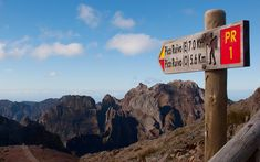 To Pico Ruivo from Pico do Arieiro highest point in Madeira) High Point, 1, Portugal, Madeira