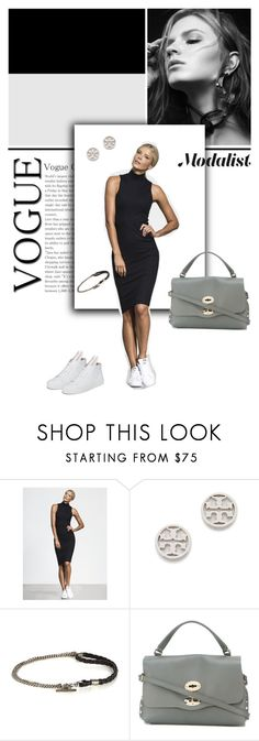 """Style up in a High Neck Dress"" by modalist ❤ liked on Polyvore featuring Tory Burch, title of work, Zanellato and Minna Parikka"