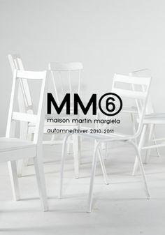 MM6 heel erg mooi logo. De combinatie met letters en cijfers inspireren mij enorm.