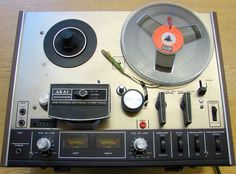 Akai reel-to-reel tape recorder Electronic Appliances, Tape Recorder, Audio, Decks, Forget, Gadgets, Band, School, Projects