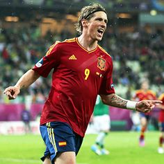 Fernando Torres answers critics with clinical performance against Ireland Beautiful Men, Beautiful People, Euro 2012, World Football, Sporty Girls, New Woman, Writer, Soccer, Sports