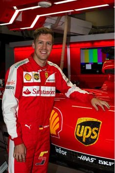 In the Paddock w/Sebastian Vettel at the 2015 GP of China