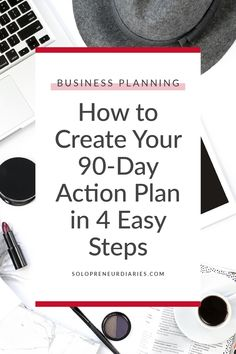 Discover how to create your action plan in four easy steps. Plus grab a free template that will help you break your business goals down into actionable steps that you can complete in 90 days. You'll be on your way to crushing your goals! Business Goals, Business Advice, Business Quotes, Business Planning, Business Coaching, Online Business, Goals Template, Business Plan Template, 90 Day Plan