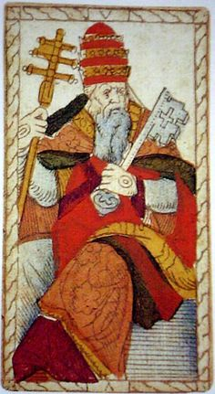 tarot of Catelin Geofroy - 16th V -The Pope