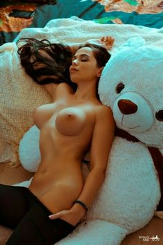 Opinion you nude girl and a bear