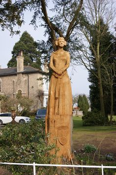 "Statue of Katherine Swynford, wife of John of Gaunt. A favorite book ""Katherine""… Statue of Katherine Swynford, wife of John of Gaunt. A favorite book ""Katherine"" by Anya Seton. Uk History, Women In History, British History, History Facts, John Of Gaunt, Duke Of Lancaster, Tudor Dynasty, Plantagenet, Wars Of The Roses"