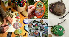 DIY+Owl+Stone+Painting