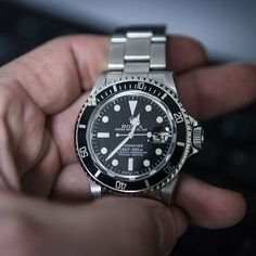 A Classic Rolex Submariner from Bob's Watches vintage collection.