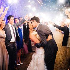Wedding Exit | Sparkler Sendoff
