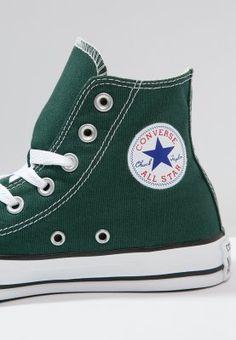 Converse CHUCK TAYLOR ALL STAR - Sneaker high - gloom green - Zalando.de