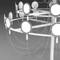 Crino by Camille Paillard Creative Industries, Glow, Chandelier, Ceiling Lights, Lighting, Projects, Inspiration, Design, Platform