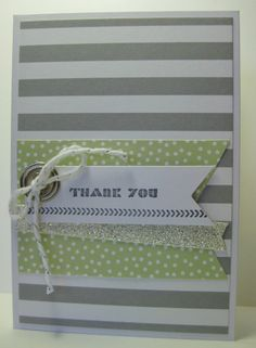 Happenings Simply Created Card Kit - SU - Thank You (by Barb Mann)