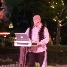 Pirate DJ at  #tinkerbellhalfmarathonweekend2016 #running4ama #disneyland by ourlittlebitofmagic