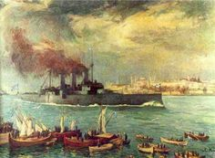 Occupation of Constantinople - Wikipedia History, Painting, Art, Istanbul, Art Background, Historia, Painting Art, Kunst, Paintings