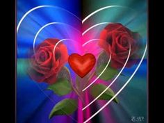A heart & rose, with TLC will bloom into something beautiful