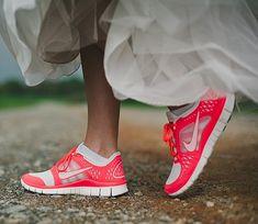 Pinspiration: Sneakers op een huwelijk