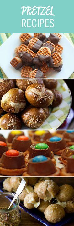 Who knew pretzels were such a key ingredient? From soft pretzel rolls to peanut butter pretzel bites, choose your go-to pretzel recipe or make them all.