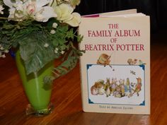 The Family Album of Beatrix Potter - Hardcover Collectible Copy - Vintage 1995 - Clean - Text by Abigail Jones - Color Illustrations - Sweet (7.50 USD) by ChicAvantGarde