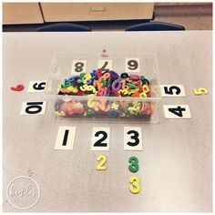 A Pinch of Kinder - Sorting Centre - Can You Sort by Number?