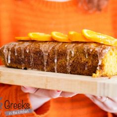 Δροσερό γλυκό ψυγείου με ροδάκινο - Craftaholic Cooking Cake, Cooking Recipes, Crazy Cakes, Butcher Block Cutting Board, Sweet Recipes, Banana Bread, Beef, Desserts, Food