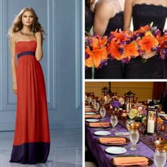 bridesmaids & table ideas