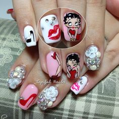 Betty Boop | Nail Art