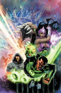 Green Lantern Corps by Stephen Segovia