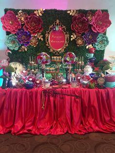 Alice in Wonderland Quinceañera Party Ideas | Photo 1 of 12