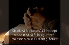 Studiază, crede, trăiește Biblia.