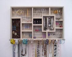 Sun Bleached Wall Jewelry Organizer Cosas Para Hacer
