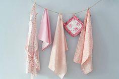 pinkmilk - Geschirrtücher und Kochschürzen in rosa und pink